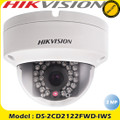 Hikvision 2MP 1080P 30M IR PoE IP Dome Camera 4MM IP66 DC12V Alarm  Wifi -DS-2CD2122FWD-IWS
