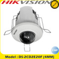 Hikvision 1080P 2MP Internal 4mm IP Recessed Mount Dome IP Network Camera -DS-2CD2E20F
