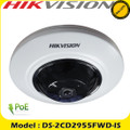 Hikvision DS-2CD2955FWD-I 5MP 1.16mm 8m IR PoE CCTV  fisheye network IP Camera