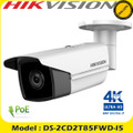 HIKVISION 8 MP(4K) IR 2.8mm Fixed Bullet Network Camera 50m IR DS-2CD2T85FWD-I5