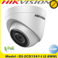 Hikvision 4MP PoE IP Turret Camera 2.8mm lens EXIR 30m IR IP67 - DS-2CD1341-I
