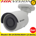 Hikvision DS-2CD2063G0-I 6MP 2.8mm fixed lens 30m IR IP Network bullet camera