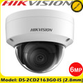 Hikvision DS-2CD2163G0-IS 6MP 2.8mm fixed lens 30m IR IP Dome camera with IR & audio/alarm