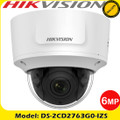 Hikvision DS-2CD2763G0-IZS 6MP 2.8-12mm motorized varifocal lens  30m IR IP Dome camera