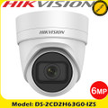 Hikvision DS-2CD2H63G0-IZS 6MP 2.8-12mm motorized varifocal lens 30m IR IP Turret camera