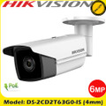 Hikvision DS-2CD2T63G0-I5 6MP 4mm Fixed lens 120dB WDR CCTV Bullet Network IP Camera 50m IR