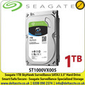"1TB Seagate SkyHawk Surveillance SATA3 3.5"" HDD ST1000VX005, Hard Drive for CCTV Camera DVR NVRS"