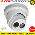 Hikvsion DS-2CD2343G0-I 4MP 2.8mm Fixed Lens ONVIF CCTV Turret IP Network Camera 30m IR