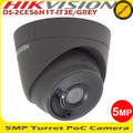 Hikvision DS-2CE56H1T-IT3E/GREY 5MP 2.8mm fixed lens PoC EXIR Turret CCTV Camera -40m IR