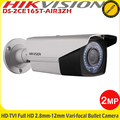 Hikvision 2MP Bullet 2.8-12mm vari-focal lens IP66 40m IR EXIR WDR Outdoor Bullet Camera -DS-2CE16D5T-AIR3ZH