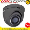Hikvision 2MP HD-TVI 3.6mm lens Eyeball 20m Fixed Lens IP66 - DS-2CE56D7T-ITM/G