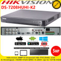 Hikvision 8 Channel 5MP Turbo HD DVR H.265 HDTVI/HDCVI/AHD/CVBS -DS-7208HUHI-K2