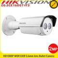 Hikvision DS-2CE16D5T-IT3 2MP HD-TVI 40m IR 3.6 Fixed Lens IP66 CCTV Bullet Camera