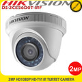 Hikvision DS-2CE56D0T-IRF  2MP HD1080P Outdoor 3.6mm lens 20m IR Turret CCTV Camera