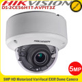 HIKVISION DS-2CE56H1T-(A)VPIT3Z  5MP HD HD-TVI Motorized Vari-focal EXIR 40m IR Dome CCTV Camera