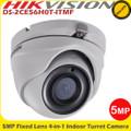 Hikvision DS-2CE56H0T-ITMF 5MP 4-in-1 2.8mm lens TVI Turret CCTV Camera 20m IR EXIR