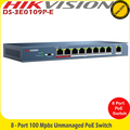 Hikvision DS-3E0109P-E 8 Ports 100Mbps unmanaged PoE Switch