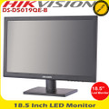 "Hikvision DS-D5019QE-B 18.5"" LED Monitor LED backlit technology 1366×768 HDMI, VGA"