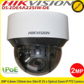 Hikvision DS-2DE4A225IW-DE 2MP 4.8-120mm lens 50m IR 25x optical zoom PoE IP Network PTZ Camera