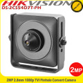 Hikvision DS-2CS54D7T-PH 2MP  2.8mm pinhole TVI pinhole covert camera