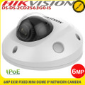 Hikvision DS-2CD2563G0-IS 6MP 2.8mm lens 30m IR network mini dome camera & built in microphone