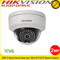 Hikvision DS-2CD2122FWD-IS  2MP 2.8mm/4mm/6mm/12mm fixed lens 30m IR PoE Vandal-resistant IP Network Dome Camera