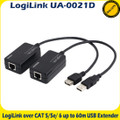 Logilink UA-0021D Over CAT 5/5e/ 6 Up to 60m USB Line Extender