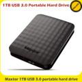 Maxtor 1TB USB 3.0 portable external hard drive - STSHX-M101TCBM