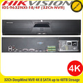 Hikvision IDS-9632NXI-I8/4F DeepinMind 32 Channel 4k NVR 8 SATA interfaces for 8 HDDs