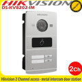 Hikvision DS-KV8202-IM 2 channel access water proof metal intercom door station