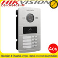 Hikvision DS-KV8402-IM 4 channel access water proof metal intercom door station