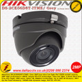 Hikvision DS-2CE56D8T-ITME/Grey 2MP 2.8mm lens 20m IR TVI PoC Ultra-low light CCTV Eyeball Camera