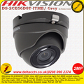 Hikvision DS-2CE56D8T-ITME/Grey 2MP 2.8mm lens 20m IR TVI PoC Ultra-low light CCTV Eyeball Camera