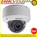 Hikvision DS-2CE56H0T-VPIT3ZE 5MP 2.7-13.5mm motorized varifocal lens 40m IR EXIR Vandal resistant CCTV Dome Camera