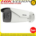Hikvision DS-2CE16H0T-IT3ZE 5MP 2.7-13.5mm motorized varifocal lens CCTV 40m IR IP67 EXIR POC Bullet Camera