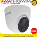 Hikvision DS-2CE71H0T-PIRL 5MP 2.8mm fixed lens HD-TVI PIR detection 20m IR CCTV Turret Camera