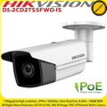 Hikvision  DS-2CD2T55FWD-I5 5MP 4mm Fixed Lens 50m IR IP67  PoE IP  Bullet Camera