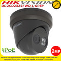 Hikvision DS-2CD2325FWD-I/GREY 2MP 2.8mm fixed lens 30m IR ultra-low light CCTV IP Network Turret Camera