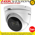Hikvision DS-2CE56H0T-IT3ZF 5MP 2.7-13.5 mm motorized vari-focal lens 40m IR IP67 4-in-1 CCTV Turret Camera