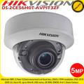 Hikvision DS-2CE56H0T-AVPIT3ZF 5MP 2.7-13.5 mm motorized vari-focal lens 40m IR IP67,IK10 4-in-1 CCTV Dome Camera