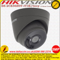 Hikvision DS-2CE56H0T-IT3E/Grey 5MP 3.6mm fixed lens 40m IR PoC EXIR turret camera