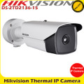 Hikvision DS-2TD2136-15 15mm fixed lens Thermal IP Network Bullet Camera