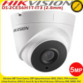 Hikvision DS-2CE56H1T-IT3 5MP 2.8mm fixed lens 40m IR WDR IP67 Turret Camera