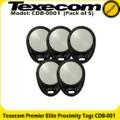Texecom Premier Elite Prox Tags - Pack of 5 (CDB-0001)