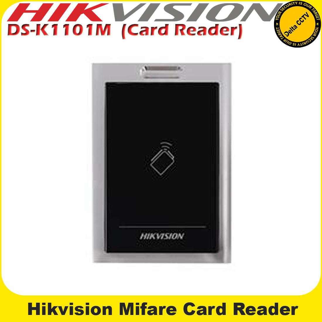 Hikvision DS-K1101M Mifare Card Reader Built-in audible