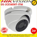 Hikvision DS-2CE56D8T-ITM 2MP 3.6mm Fixed Lens 20m IR IP67 Turret Camera