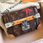 LOUIS VUITTON FW 2018/19 Time Trunk Essential Trunk Miniature Bag #GI2178 *New