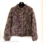 CHANEL 11A Metiers d'Art Paris-Byzance Fantasy Tweed Jacket 40 FR