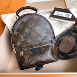 LOUIS VUITTON Monogram Palm Springs Backpack Mini #CA3176 *New