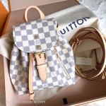 LOUIS VUITTON Sperone BB Backpack Damier Azur/ Rose Ballerine #SR1137